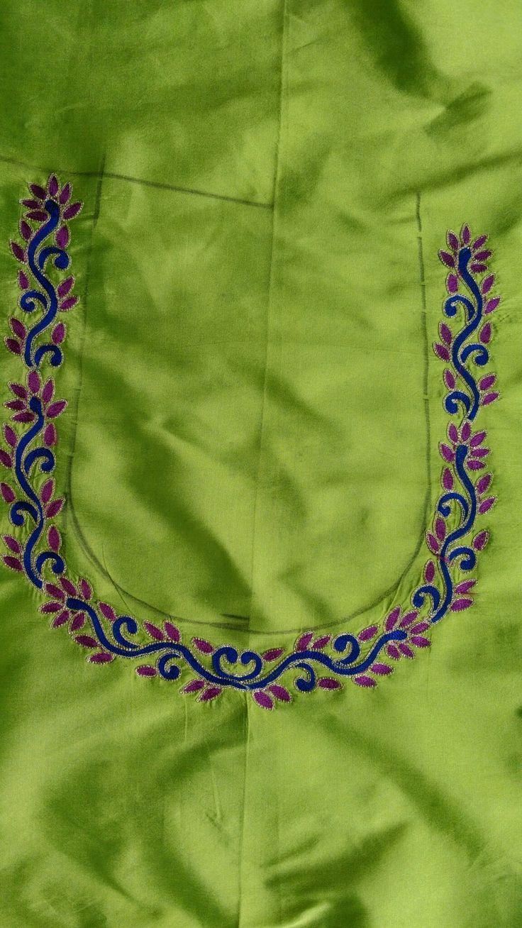 Madam blouse design