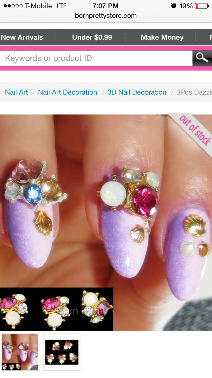 34 best Stud Nail Art images on Pinterest | Studded nails, Nail arts ...