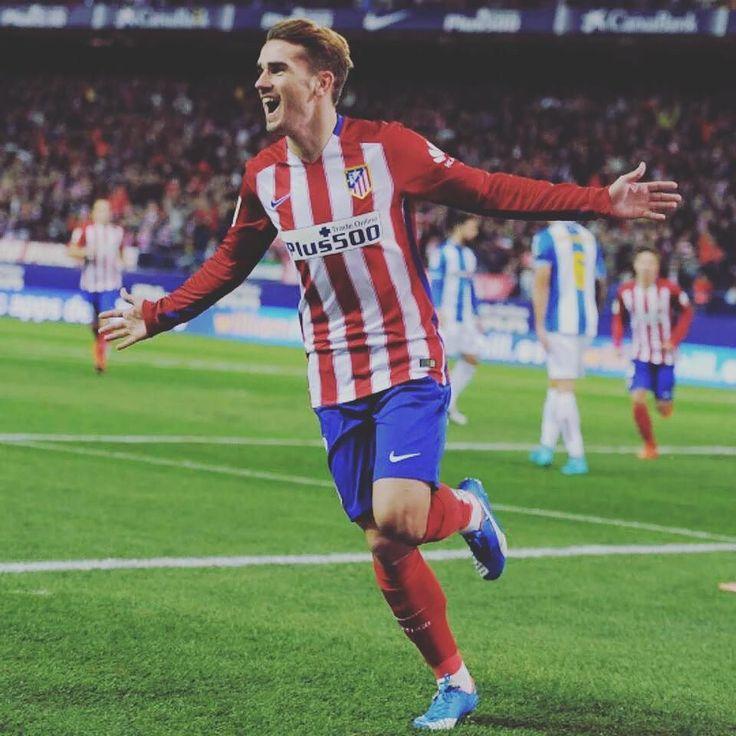 Antoine Griezmann registra 30 goles y 3 asistencias en 52 partidos de Liga con el Atlético de Madrid. Jugadorazo.