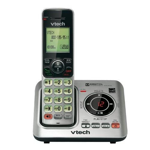 Vtech Vtcs6629 Dect 6.0 Expandable Speakerphone With Caller Id (single-handset S)  Dect 6.0 #Expandable #Speakerphone #System; Caller Id; Expandable With Cid/Cw/Handset Speakerphone ; Single-Handset System Features : New - Retail *30-Day Warranty *VTech VTCS6629 *Vtech Vtcs6629 Dect 6.0 Expandable Speakerphone With Caller Id