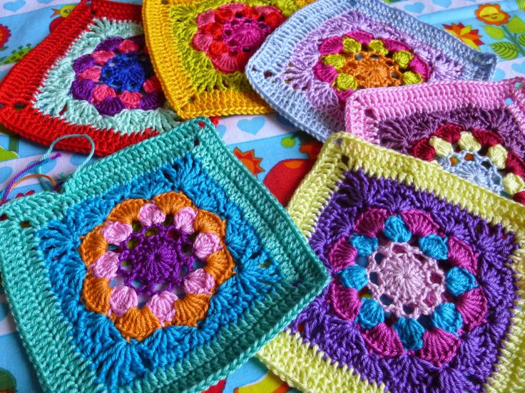 115 best Granny square Projekte images on Pinterest | Stricken ...