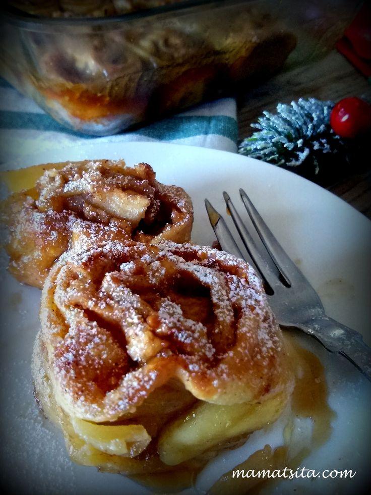 Τα μηλοπιτάκια της επιβράβευσης. | Mamatsita