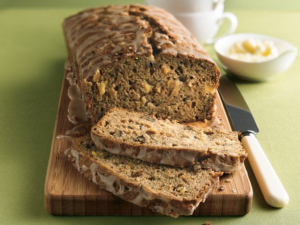 Pineapple Zucchini Bread: Desserts, Gift, Zucchini Breads Recipe, Breakfast Potlucks, Pineapple Zucchini, Food, Zucchini Bread Recipes, Betty Crocker, Glaze Loaf