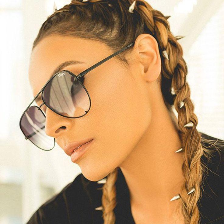 High Key Sunglasses - Black/Smoke Fade