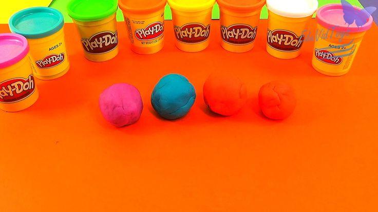 Kinder Surprise Eggs Playdoh