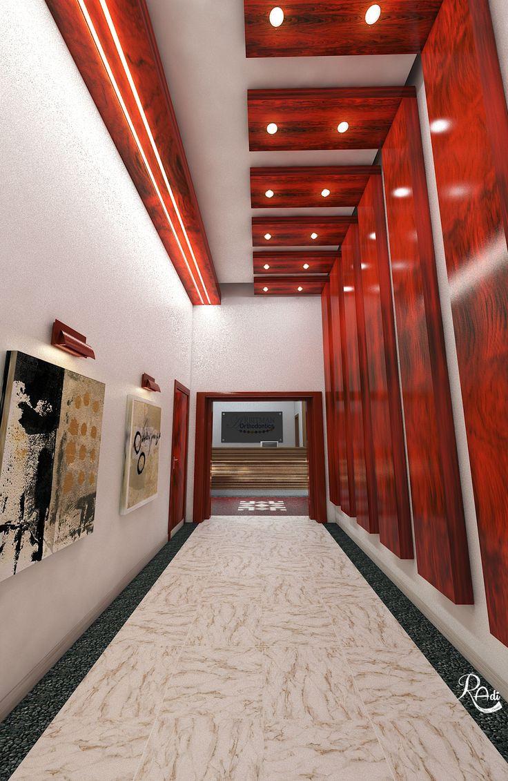 Dental Clinic Entrance Design V-Ray Render