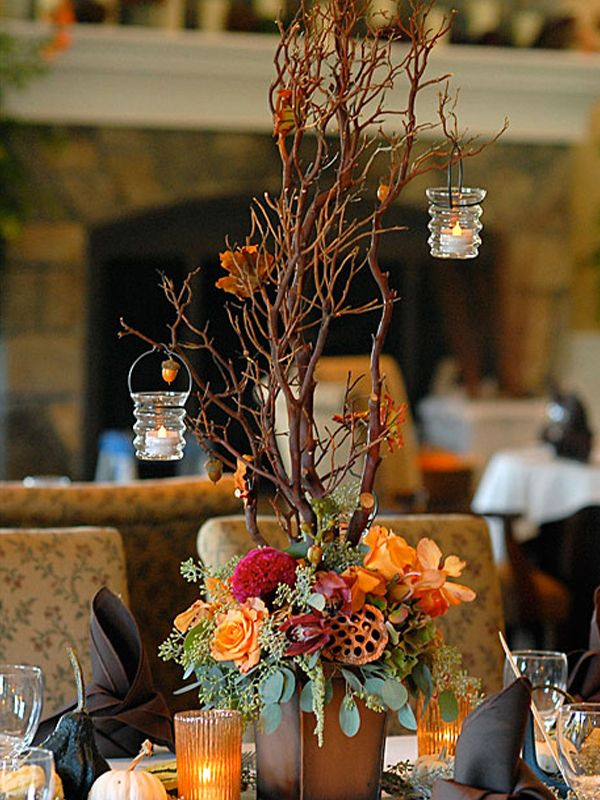 30 Vogue Manzanita Centerpiece Tree Gold Efavormart Wedding