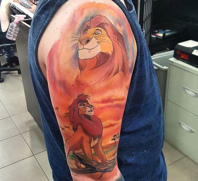 Another Lion King tattoo idea. I'm obsessed