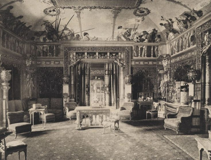 vanderbilt 5th avenue homes picture | Grand Salon, Cornelius Vanderbilt II house, 1894, at Fifth Avenue and ...