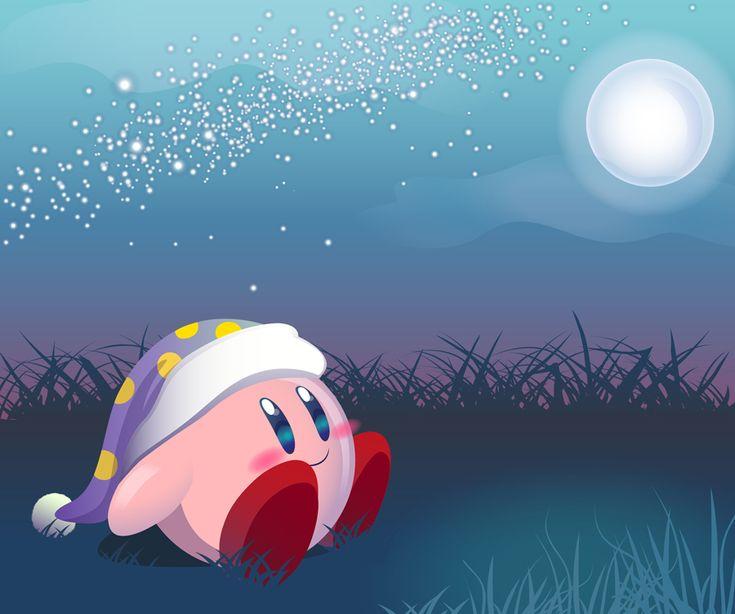 Good Night Kirby by couchmochi.deviantart.com on @deviantART