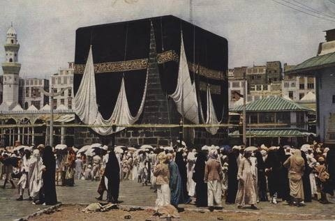 Ka'bah 1918 - www.anata-tours.com - Anata Tour is a travel agent for the Hajj and Umrah.