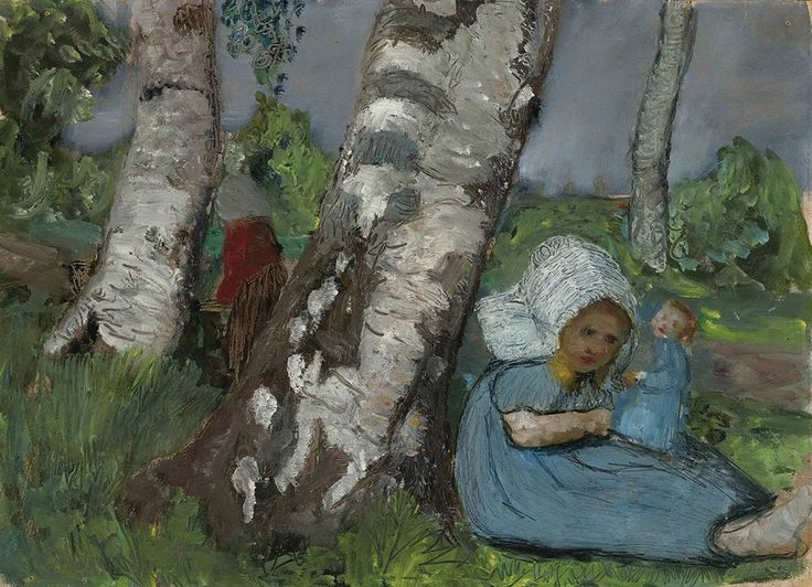 Bodenvase Deko Ideen : Paula Modersohn-Becker (1876-1907) Kind mit ...