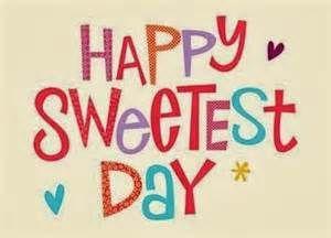 Happy Sweetest Day! #SweetestDay