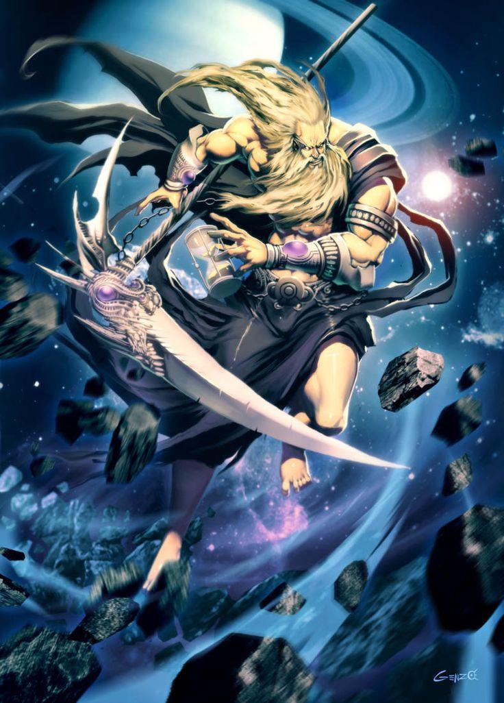 Cronos titan y padre de Hades,Poseídon,y Zeus. Hace 100.000 Cronos había abusado de su poder y arrasó con civilizaciones enteras y amenazaba con destruir el mundo que el mismo gobernaba pero un día sus 3 hijos lo enfrentaron y lo derrotaron. Antes de morir sus 3 hijos lo enviaron al infierno llamado el TÁRTAROS y ellos mismo se convirtieron en los 3 dioses mas poderosos del mundo su hijo ZEUS se convirtió en el dios del rayo,POSEIDON se convirtió en el dios del inmenso mar azul y HADES se…