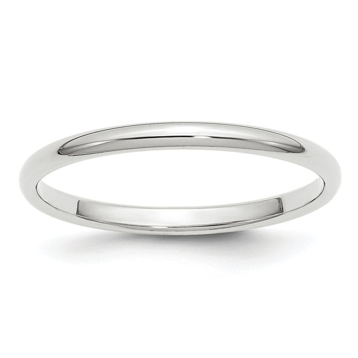 Start your life together with the clean look of this classically minimalist wedding band. This ring can be worn by both-Xo3a5mVG