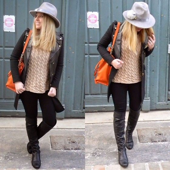 Bata Boots by Blonde B. from Tours in France #batashoes #fashion #shoes #blogger