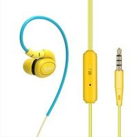 Wish   Sports Earphones Running With Memory Wire With Mic In-ear Earhook Music Headset Mobile Stereo Bass