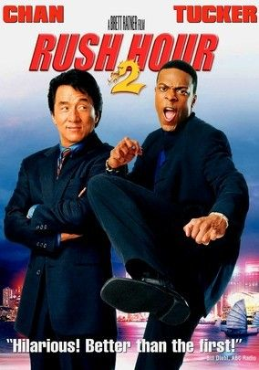 Rush Hour 2 is a follow up to a terrific original Rush Hour starring Jackie Chan and Chris Tucker. For some strange reasons, the chemistry between the two stars is magic and works well. Although this one may not be better than the first one, it still is a good action movie to watch.