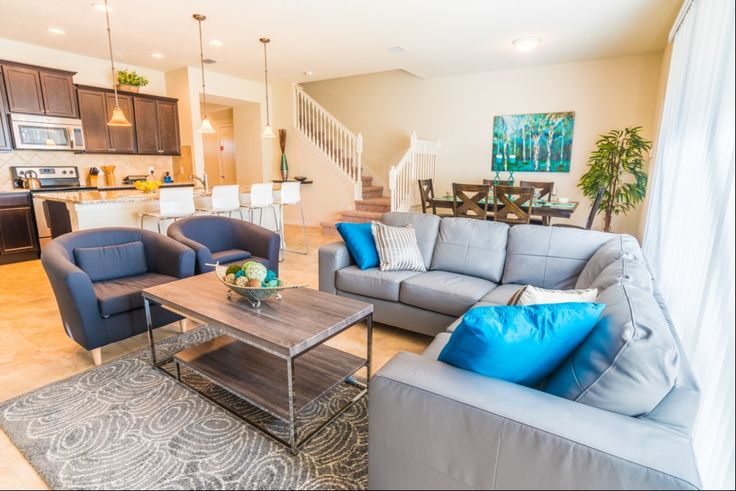 Windsor at Westside Brand New 5 bedroom, 4.5-bath spacious townhouse miuntes from the Magic!