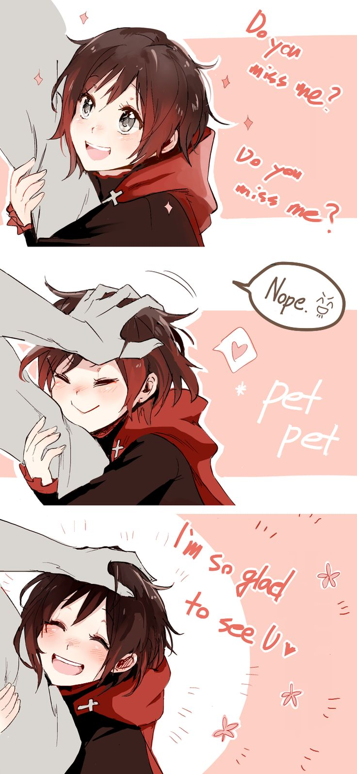 Ruby and Qrow Am I the only one who can't believe season 3 ep 11???