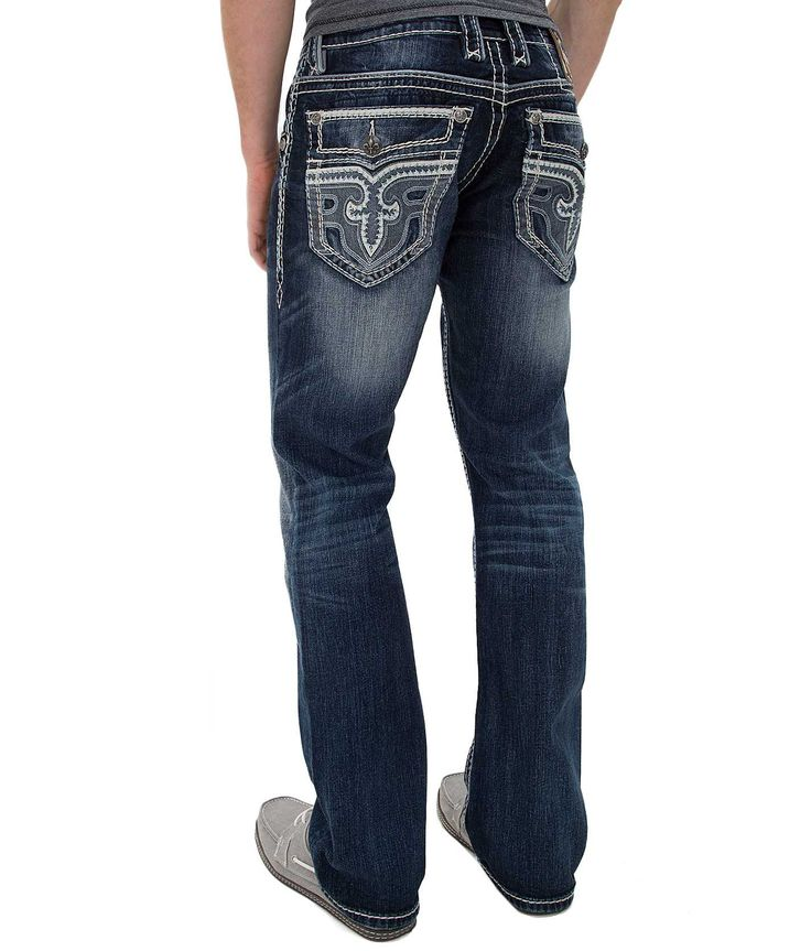 Rock Revival Lowry Straight Jean - Menu0026#39;s Jeans | Buckle | Denim | Pinterest | Rock Revival