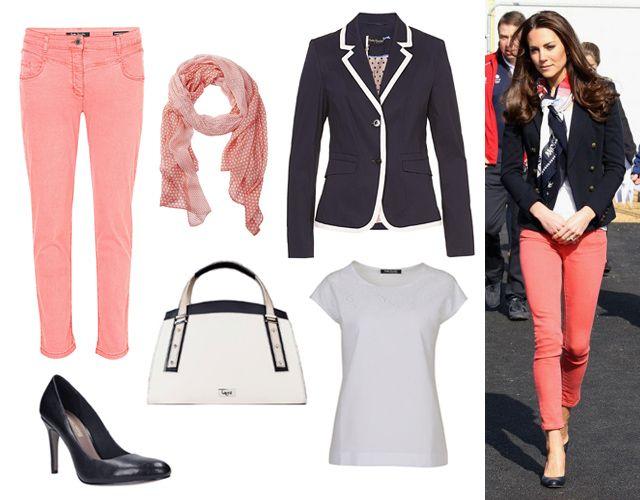 Top, blézer, nadrág, kendő: Marianna Boutique, táska: Laoni, cipő: CCC