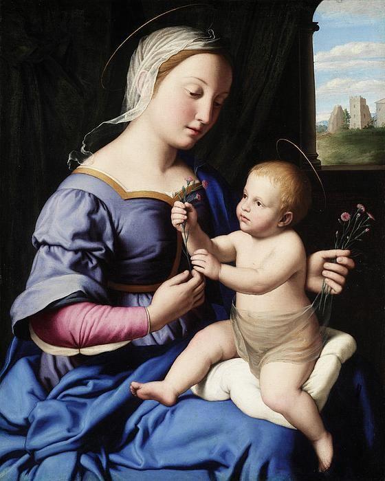 Il Sassoferrato:  Madonna and Child