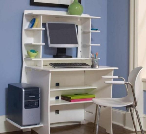 Wall Mounted Deskivuug Desks For Small Spaces Small Bedroom Desk Computer Desk Design
