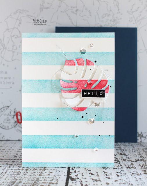 BerryCloud. Creo, ergo sum: Hello sea / Card