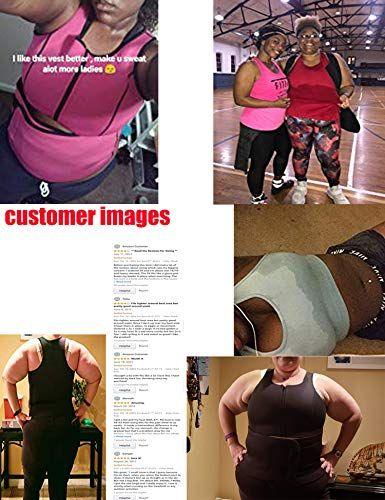 4fb03f059f Women Neoprene Waist Slimming Vest Hot Sweat Sauna Suit Tank Top Curves  Body Shaper for Weight Loss