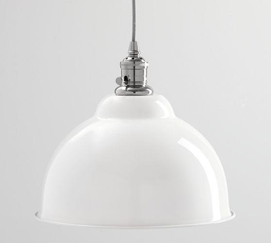Metal Bell Lamp Shade: For Breakfast Nook / PB Classic Pendant