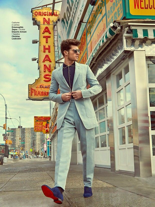 Paolo Anchisi for GQ Brasil by Greg Swales #fashion #mensfashion #fashionphotography