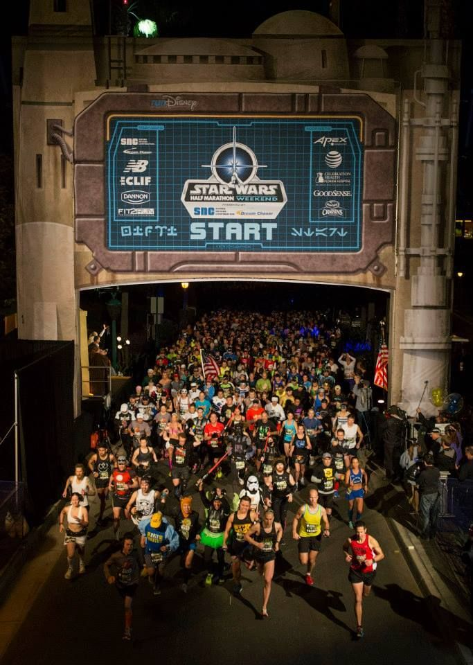 Walt Disney World Resort Feels the Dark Side of the Force in All New Star Wars Half Marathon Event #WDW #RunDisney