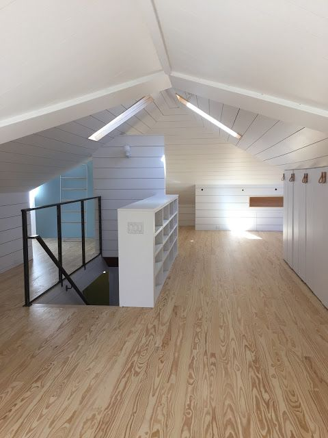 Finished Attic Space Very Nearly Matches Mine Attic Spaces Home Decor Remodel