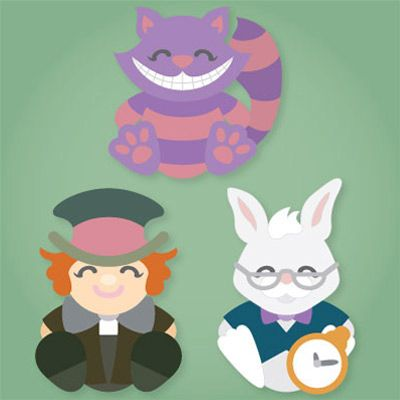 Alice's Cuddly Friends SVG Collection - - It's Free! : SVG Files for Sure Cuts A Lot - SVGCuts.com