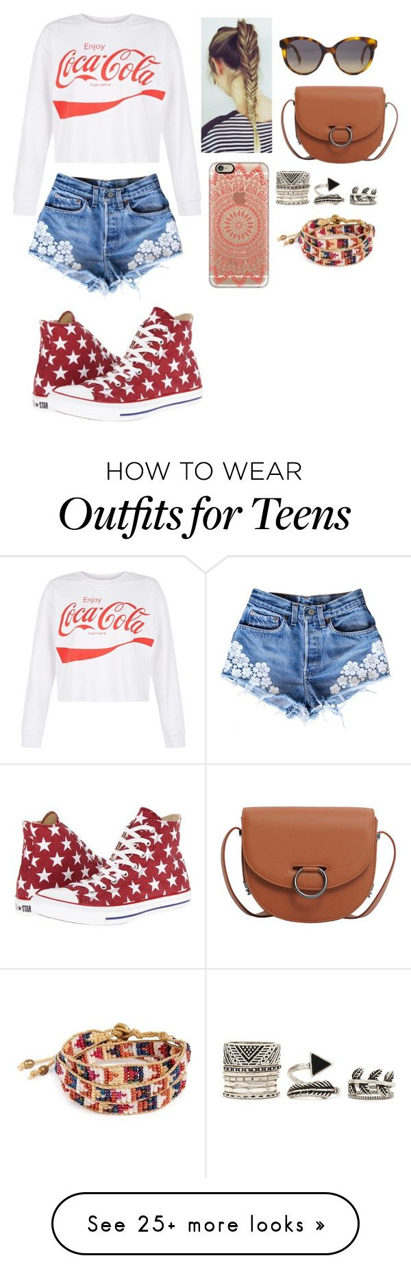 """""""Untitled #695"""" by hakay on Polyvore featuring New Look, Converse, Fendi, MANGO, Casetify, Forever 21 and Me to We"""
