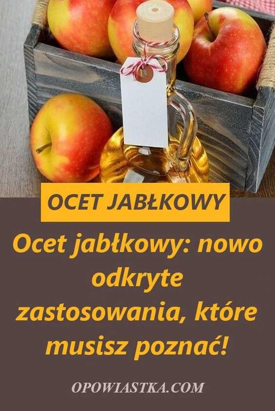 Co jeść lub pić aby schudnąć czy ocet jabłkowy