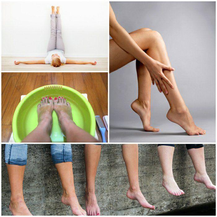 geschwollene beine dicke füße tipps und tricks