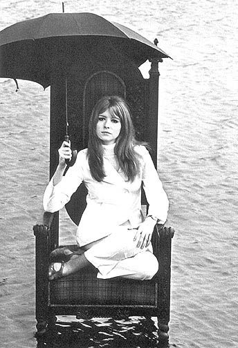 """1967 - Jane Asher for the book """"Birds of Britain""""."""