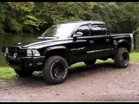 Black dodge dakota