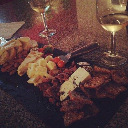 Cheese, Crackers, White Wine & More