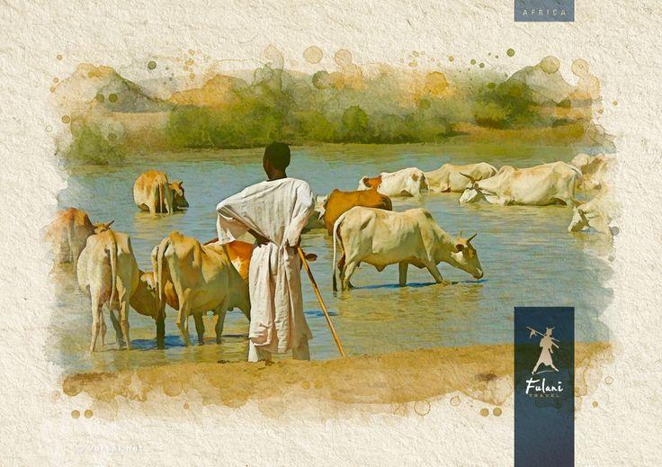 Sudan - Infografía para catálogo de viajes