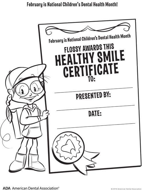 Lovely Dental Health Month Coloring Pages 58  best Kids Dental