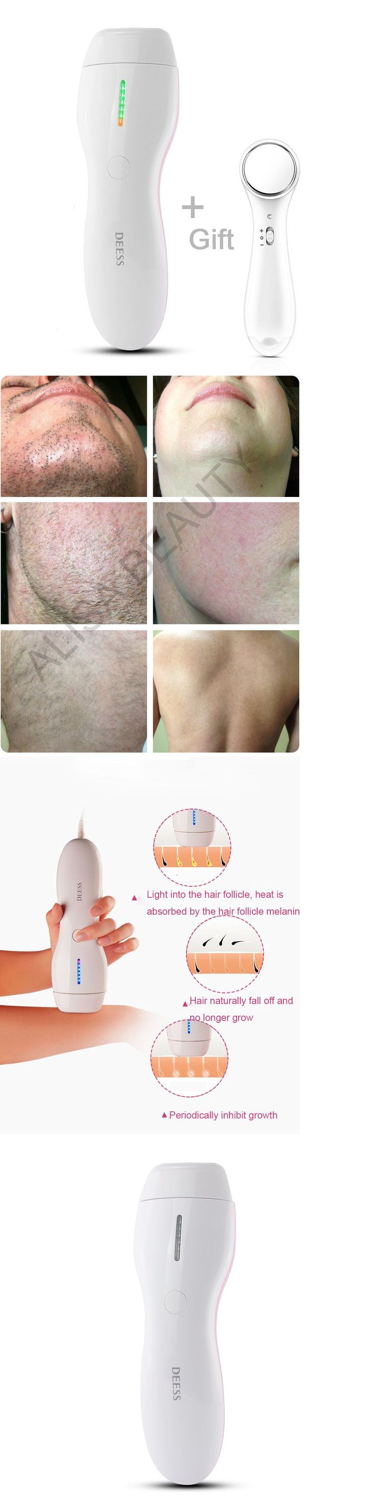 Laser Hair Removal and IPL: Deess Laser Hair Removal System Ipl Best Hair Removal 350,000 Light Pulses -> BUY IT NOW ONLY: $138 on eBay! #BestHairLaserRemoval