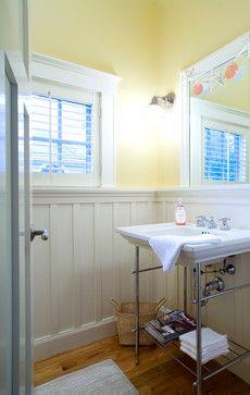 Arts & Crafts Bungalow - craftsman - powder room - boston - Jan Gleysteen Architects, Inc