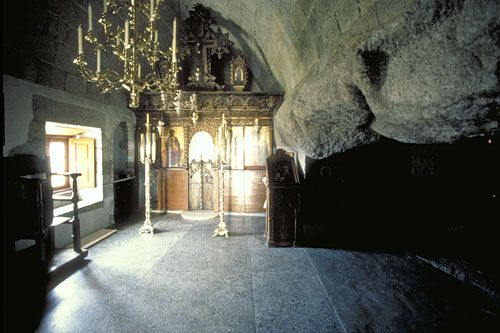 Holy Grotto of the Revelation, Patmos Island, Greece