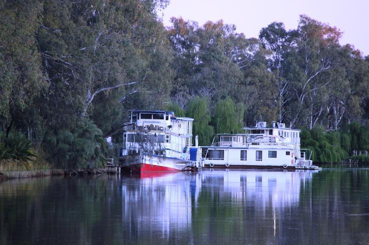 Paddlesteamers on Murray River..Mildura.Vic,Aust