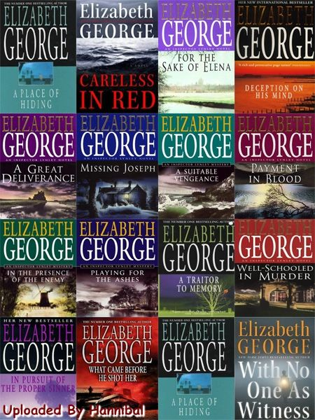 Another great woman writer. This is an outstanding series by Elizabeth Geroge.