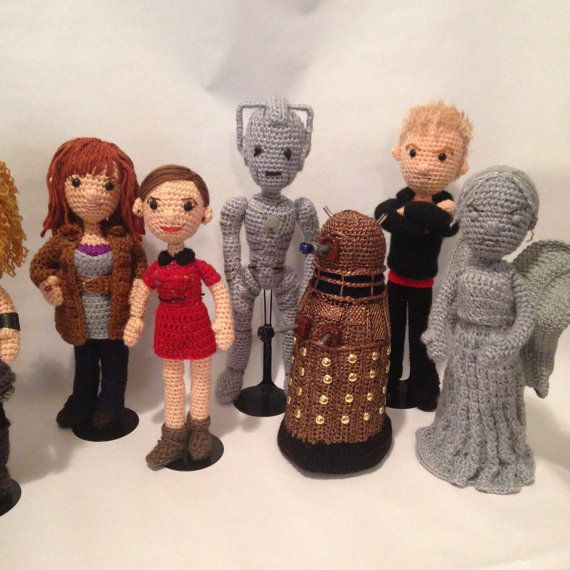 Doctor Who Crochet Amigurumi from CraftyIsCool | Killer Kitsch