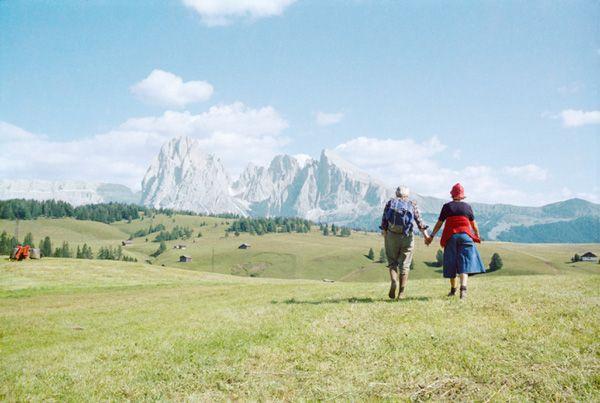 Luigi Ghirri, Alpe di Siusi, 1979
